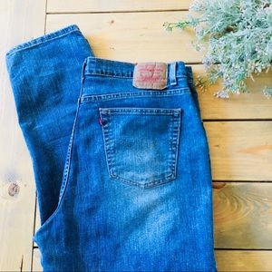 Levi's 550 High-waisted Mom Jeans 20M